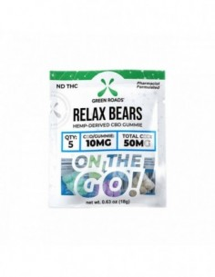 Green Roads Edible CBD Gummies RELAX BEARS OTG 0