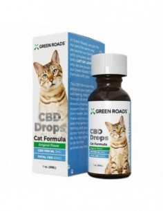 Green Roads Pet CBD Drops Cat Formula 0