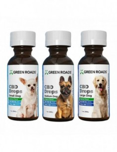 Green Roads Pet CBD Drops Dog Formula 0