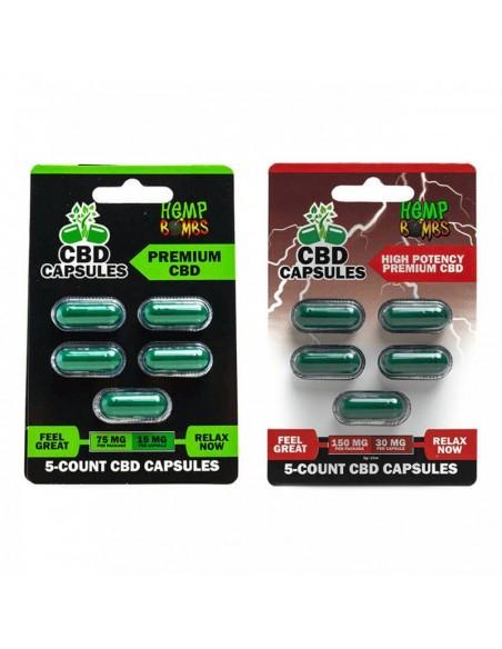 Hemp Bombs CBD Capsules 0