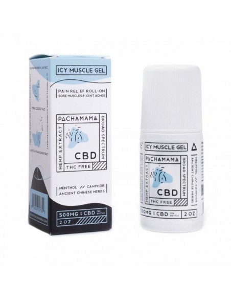 Pachamama Topical CBD Icy Muscle Gel 0