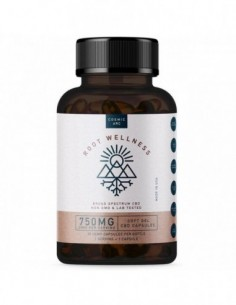 Root Wellness CBD Soft Gel Capsules 0