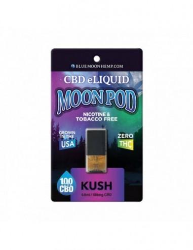 Blue Moon Hemp CBD Vape Pods Kush 0.8ml 100mg 1pcs:0 US