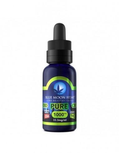 Blue Moon Hemp CBD Vape Juice Pure 30ml 1000mg 1pcs:0 US