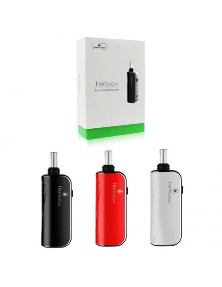 Airistech Herbva X 3in1 Vaporizer For Dry herb/Wax/CBD Oil 1000mAh 0