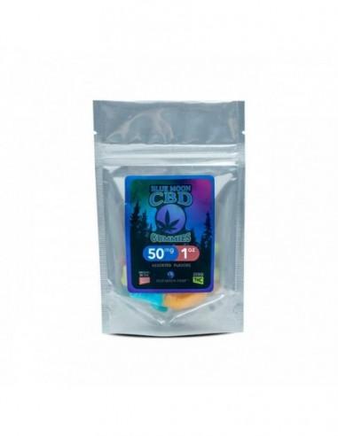 Blue Moon Hemp Edible CBD Gummies Gummies 1oz 50mg 1pcs:0 US