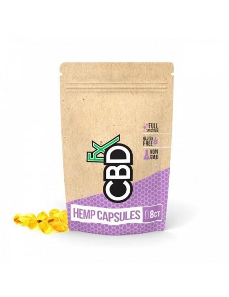 CBDfx CBD Capsules 8 Count Pouch 8 Count 25mg 1pcs:0 US