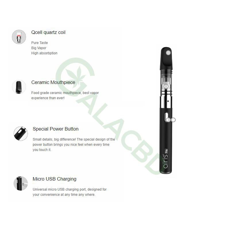 Airistech Q-Tip Wax Pen/Dab Pen For Concentrate 650mAh 2