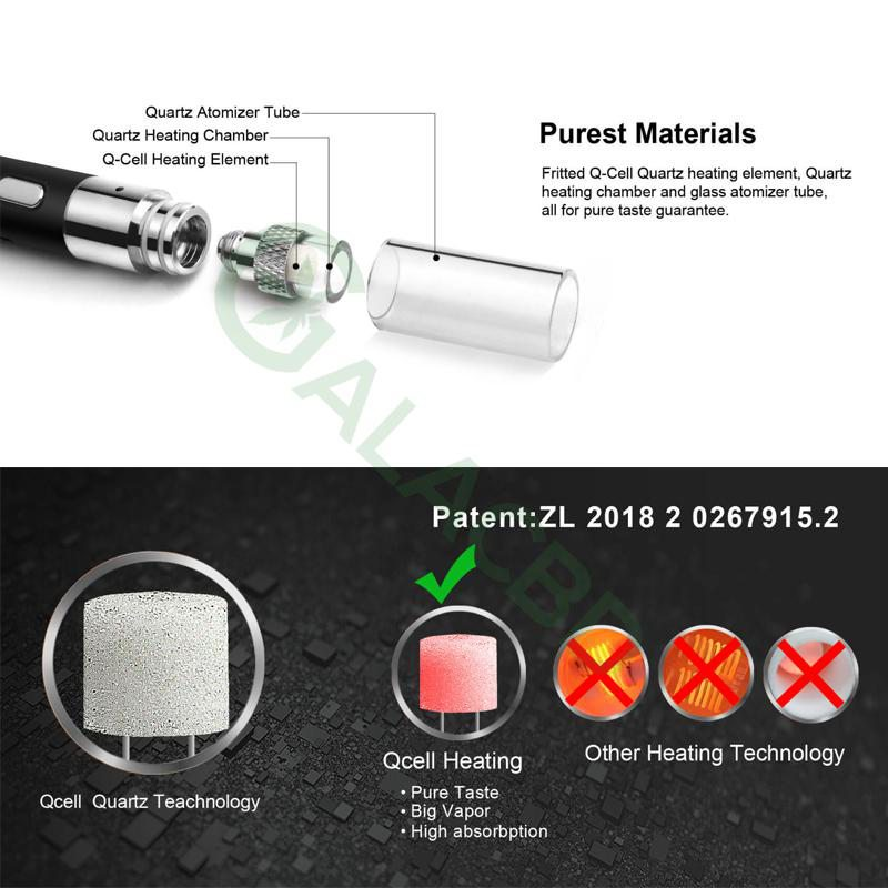 Airistech Q-Tip Wax Pen/Dab Pen For Concentrate 650mAh 4
