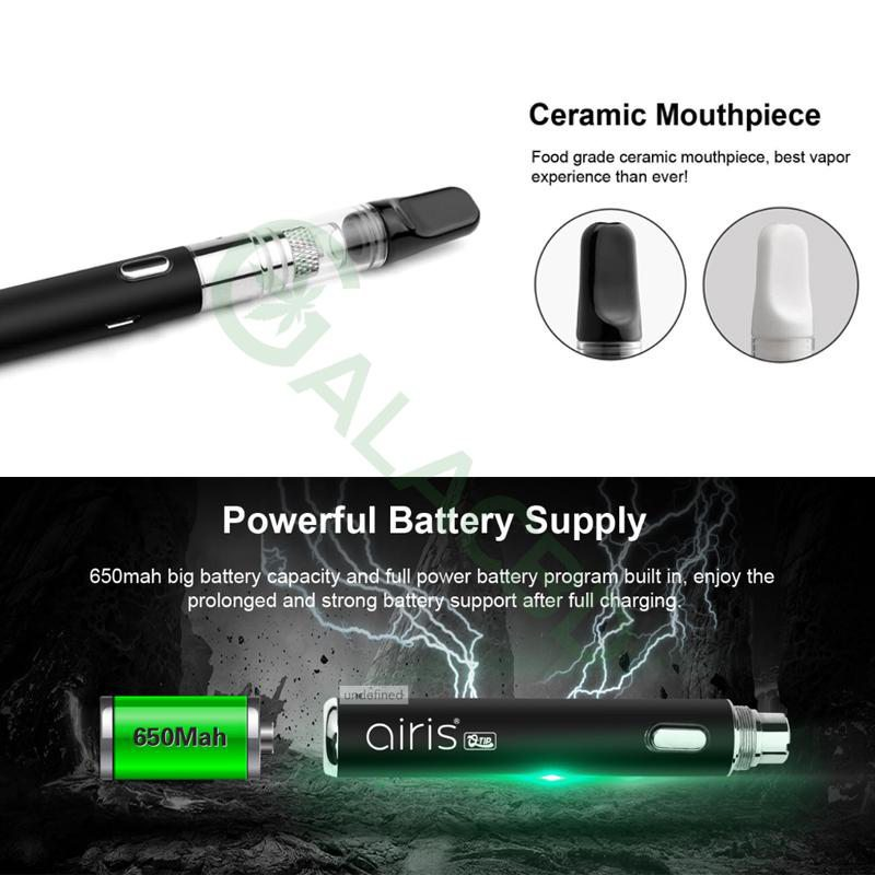 Airistech Q-Tip Wax Pen/Dab Pen For Concentrate 650mAh 5