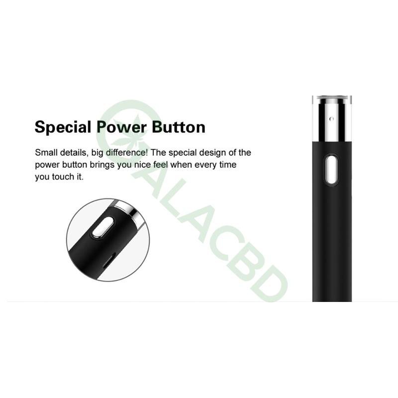 Airistech Q-Tip Wax Pen/Dab Pen For Concentrate 650mAh 6