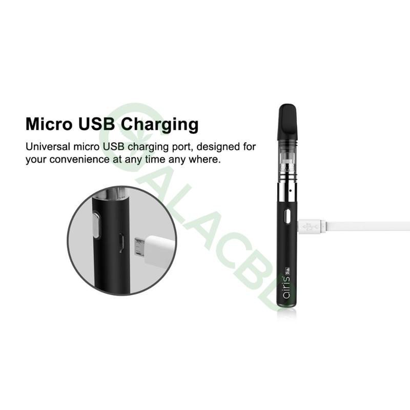 Airistech Q-Tip Wax Pen/Dab Pen For Concentrate 650mAh 7