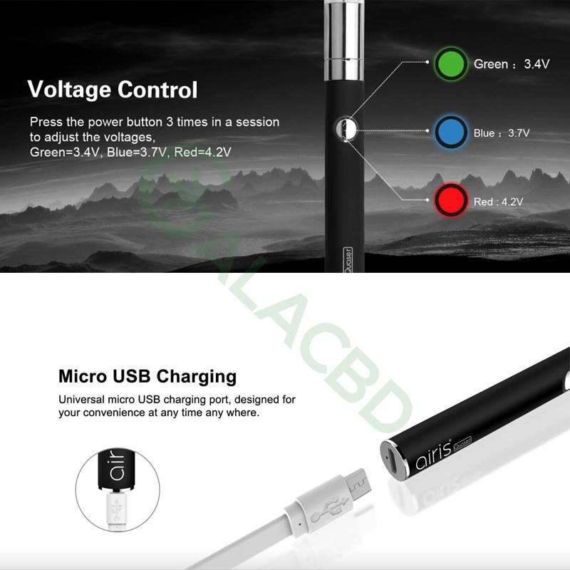 Airistech Airis Quaser Wax Pen/Dab Pen For Concentrate 350mAh 4