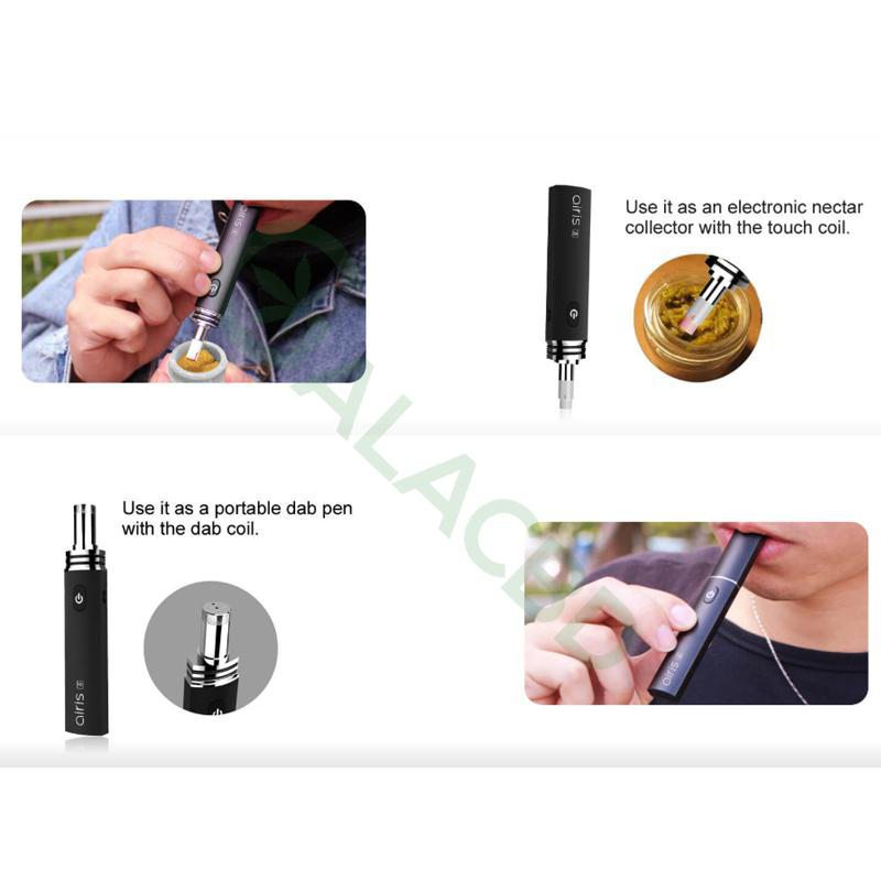 Airistech Airis 8 Vaporizer For Dab/Wax Vape 2in1 Dip/Dab Heating 3