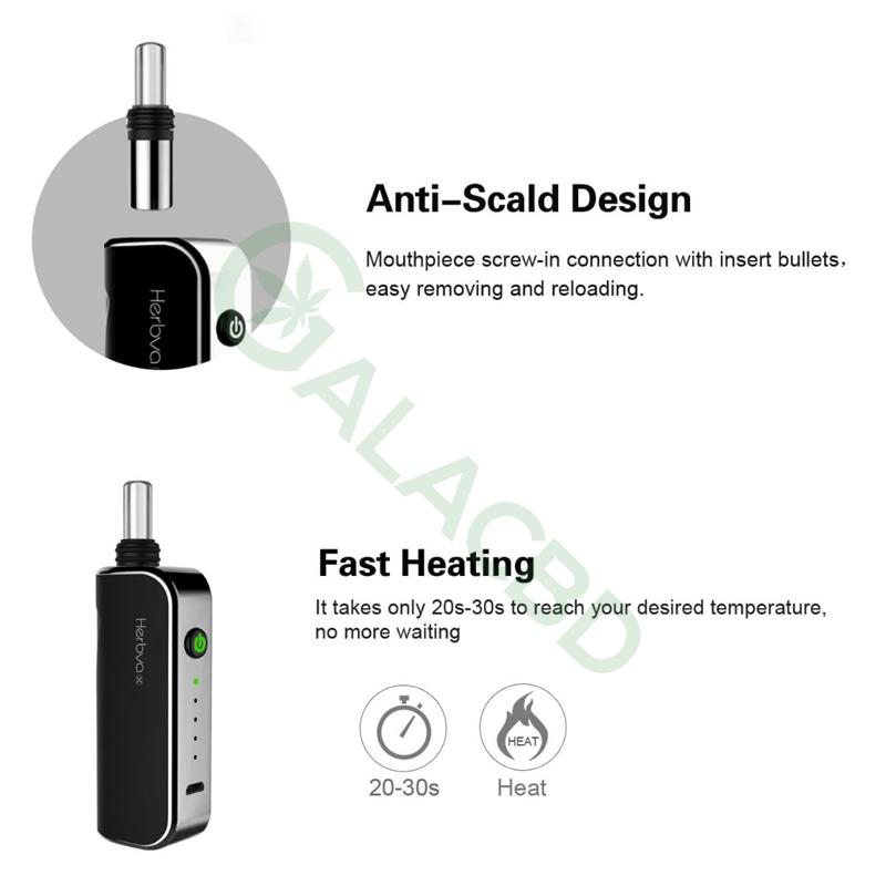 Airistech Herbva X 3in1 Vaporizer For Dry herb/Wax/CBD Oil 1000mAh 5