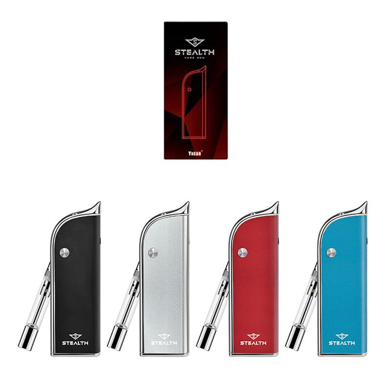 Yocan Stealth 2in1 Vape Kit For CBD Oil/Wax/E-juice 650mAh 0