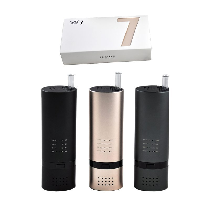 Vapor Source VS7 Dry Herb Vaporizer For Weed 18650 0
