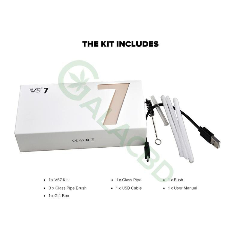 Vapor Source VS7 Dry Herb Vaporizer For Weed 18650 1