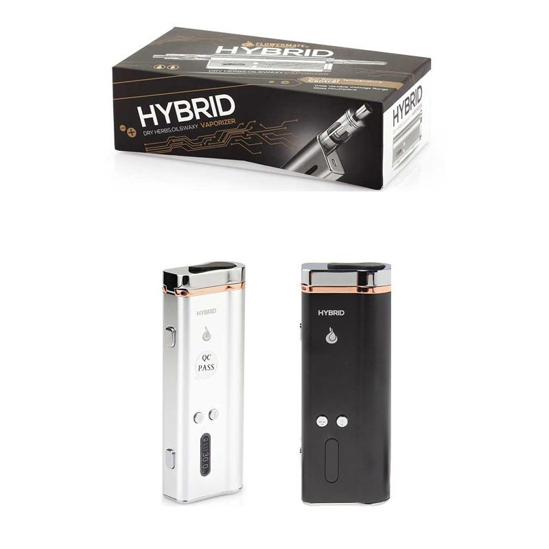 Flowermate Hybrid 30W 510 Thread Battery TC Mod For Weed/Wax/CBD Oil 1500mAh 0