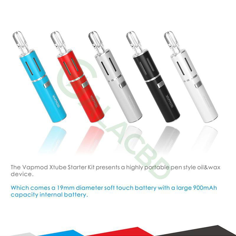 VAPMOD Xtube 710 Vape Pen Starter Kit For CBD Oil/THC/Wax 510 Thread 900mAh 8