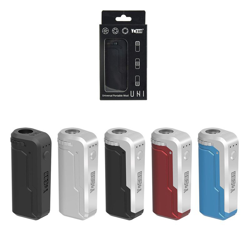 Yocan UNI Box Mod Magnetic 510 Thread Battery For CBD Oil/THC/Wax 650mAh 0