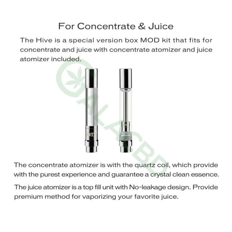 Yocan Hive AIO Mod Starter Kit For CBD Concentrate/E-juice/Oil 650mAh 3