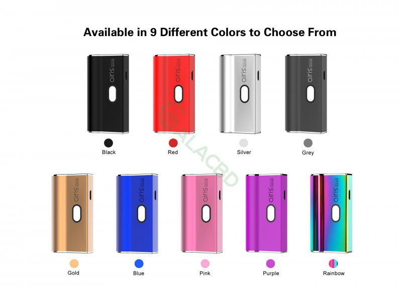 Airistech Airis Janus 510 Thread Battery Box Mod For CBD Oil/THC/Pods 650mAh Pic 9