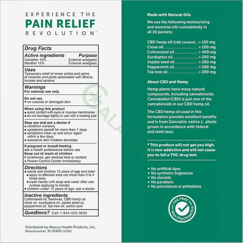 CBDMEDIC Topical CBD Muscle & Joint Pain Relief Ointment 1