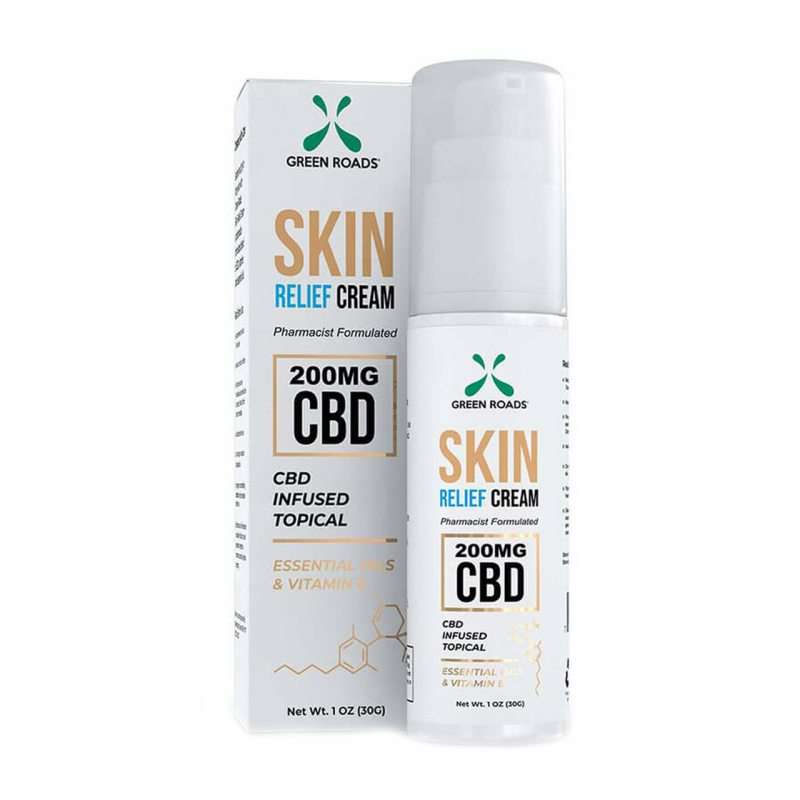 Green Roads Topical CBD Skin Relief Cream 0