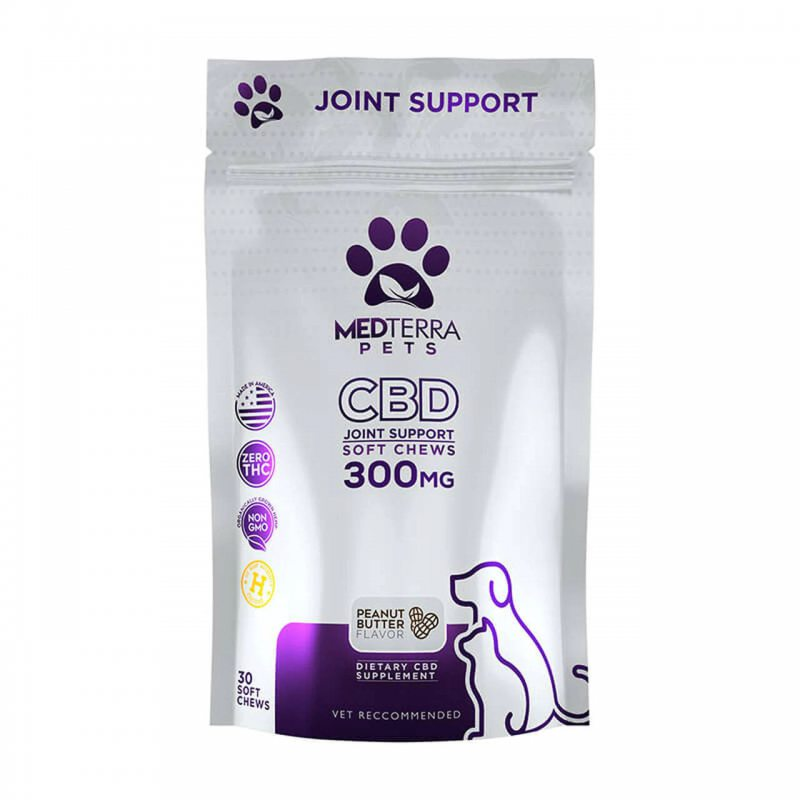 Medterra Pet Edible CBD Joint Support 0