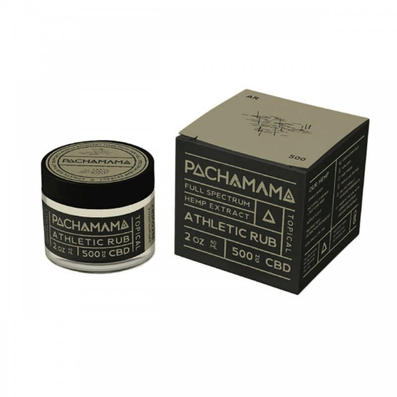 Pachamama Topical CBD Athletic Rub 0